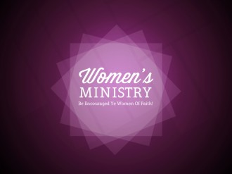 Womens Ministry Church Service Still