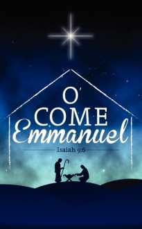 O Come Emmanuel Church Bulletin