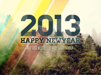 Happy Newyear PowerPoint Template For Church