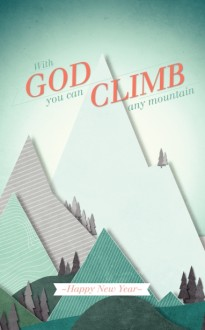 Climb Any Mountain Church Bulletin