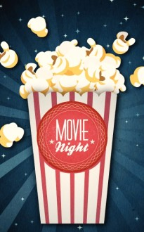 Movie Night Church Bulletin