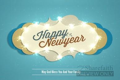 Happy New Year Motion Video Loop