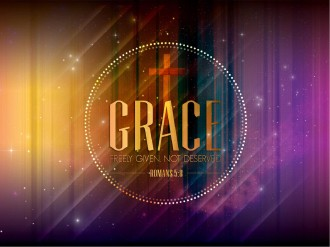 Grace Freely Given Sermon PowerPoint Template