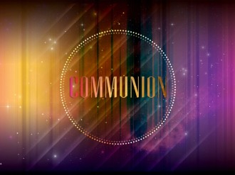 Communion Church Event Slide