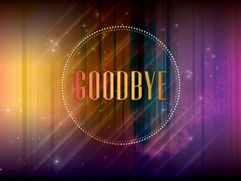 Goodbye Church Service Still