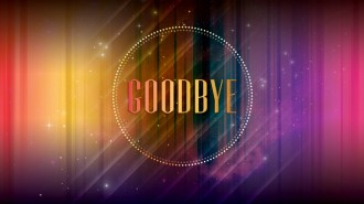 Goodbye Message Church Service Still