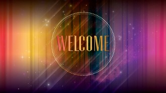 Welcome Church Event PowerPoint Slide