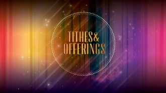 Tithes and Offerings Church Event STill