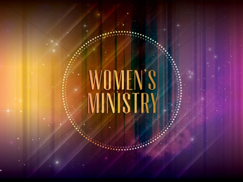 Women's Ministry Church Announcement Slides