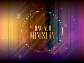 Young Adult Ministry SD Slide for Church