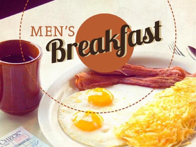 Men's Breakfast PowerPoint Template
