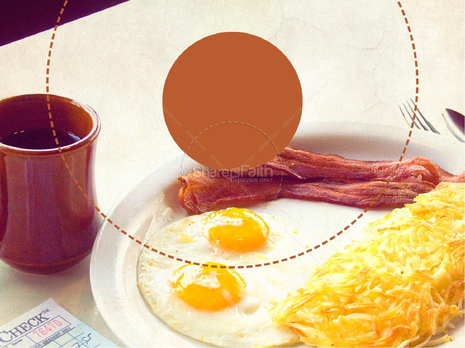 Men's Breakfast PowerPoint Template