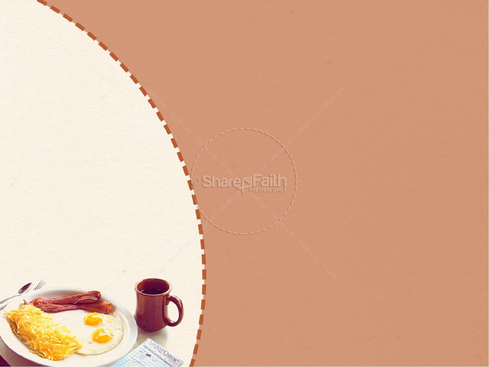 Men's Breakfast PowerPoint Template | PowerPoint Sermons