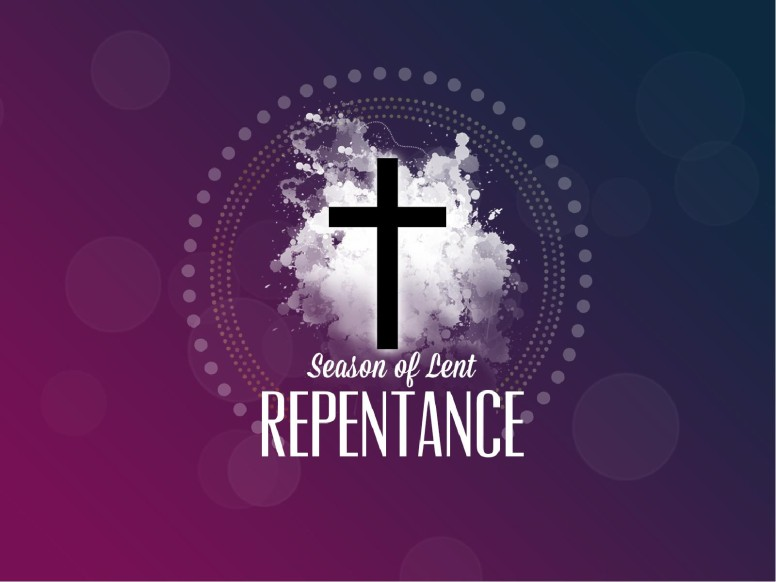 Season of Lent Repentance