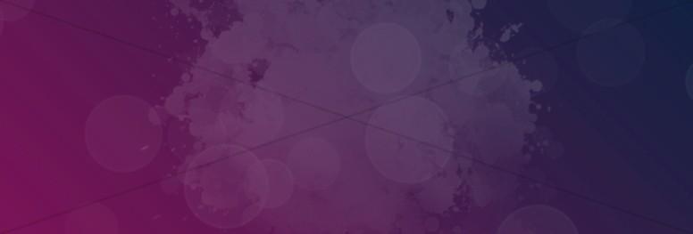 Purple Grunge Website Banner