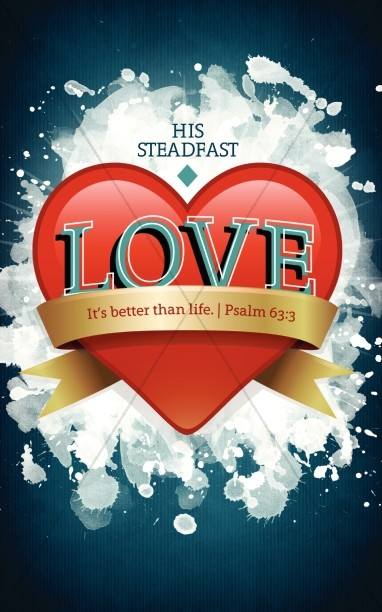 Steadfast Love Church Bulletin