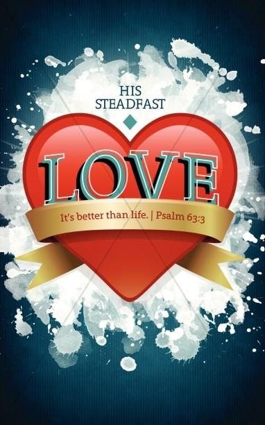 Steadfast Love Church Bulletin