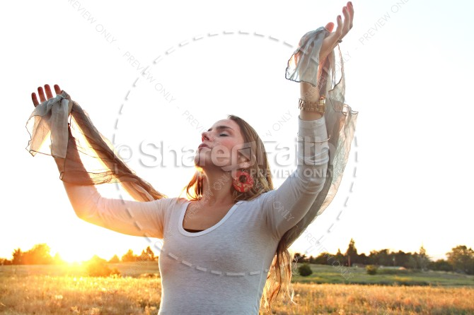 Praise God Faith Stock Photos