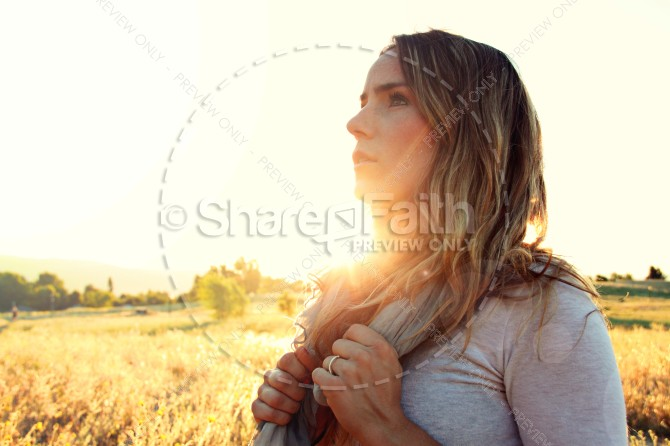 Life of Faith Christian Stock Photos