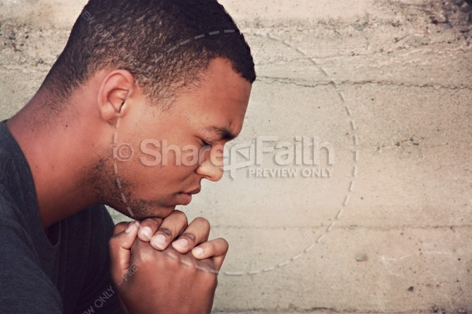 Pray in Faith Religious Stock Photos
