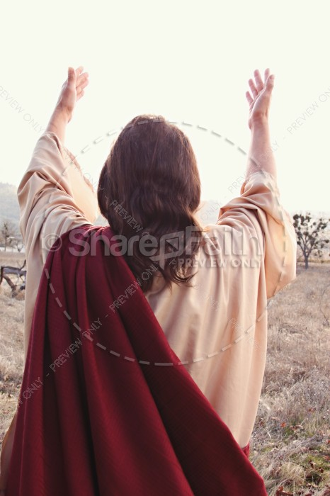 Jesus' Blessing Religious Stock Images