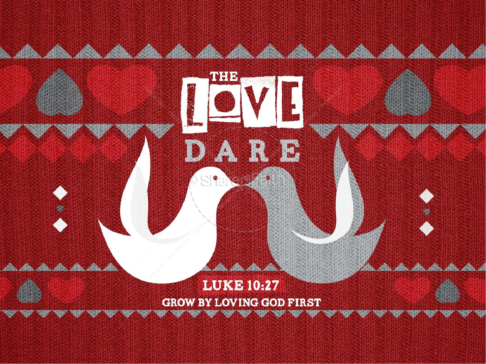 The Love Dare PowerPoint Sermon
