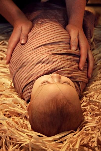 Birth of Jesus Christian Stock Photos