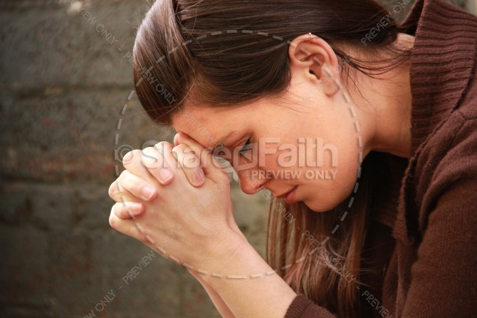 Pray Without Ceasing Christian Stock Photos