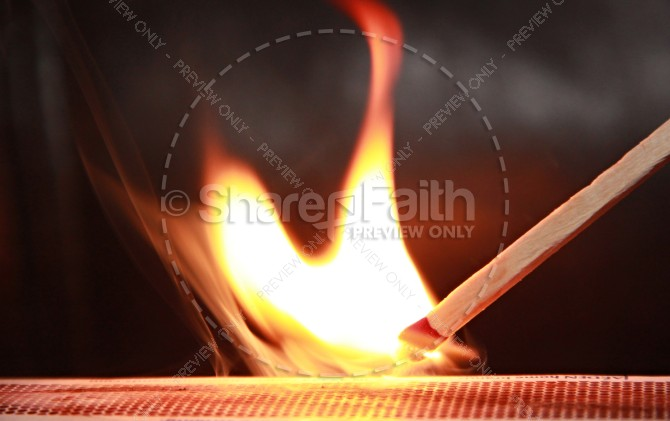Flame Religious Stock Images