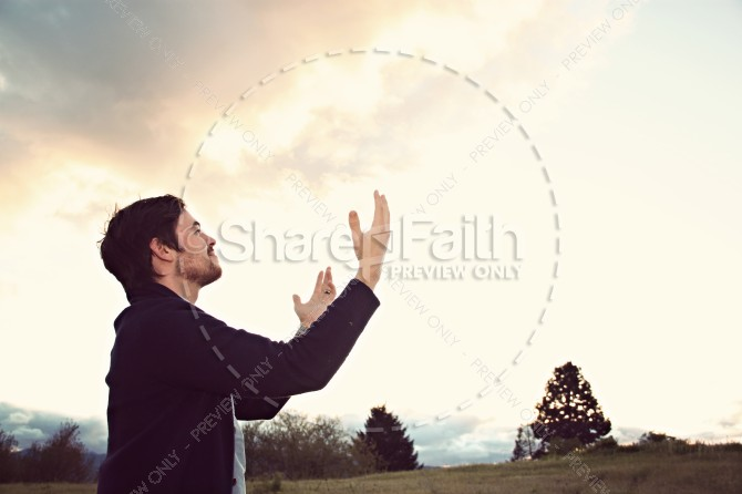 Trust in God Church Stock Photos