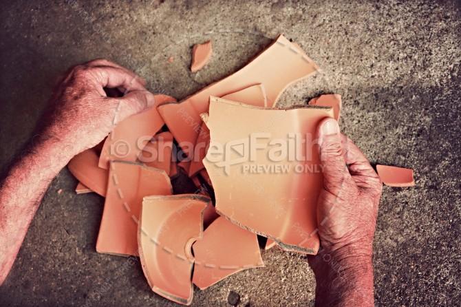 Broken Christian Stock Photos