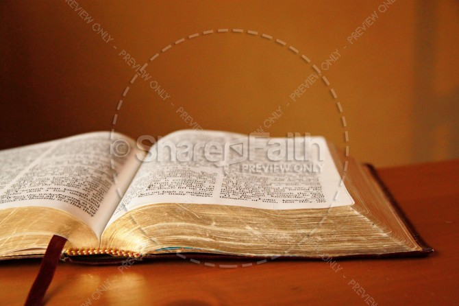 Open Bible Religious Stock Photos