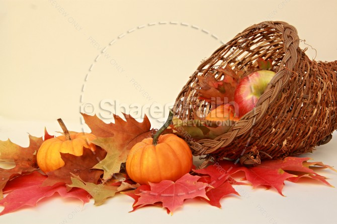 Autumn Scene Faith Stock Photos