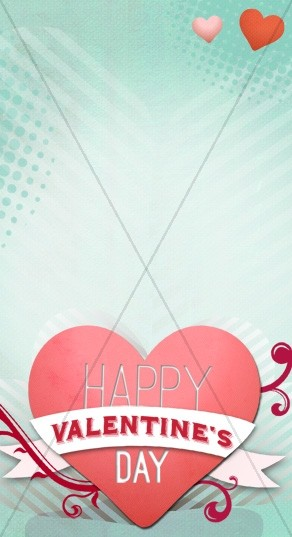Happy Valentine's Day Website Sidebar