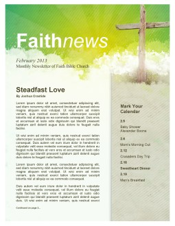 Easter Cross Church Newsletter