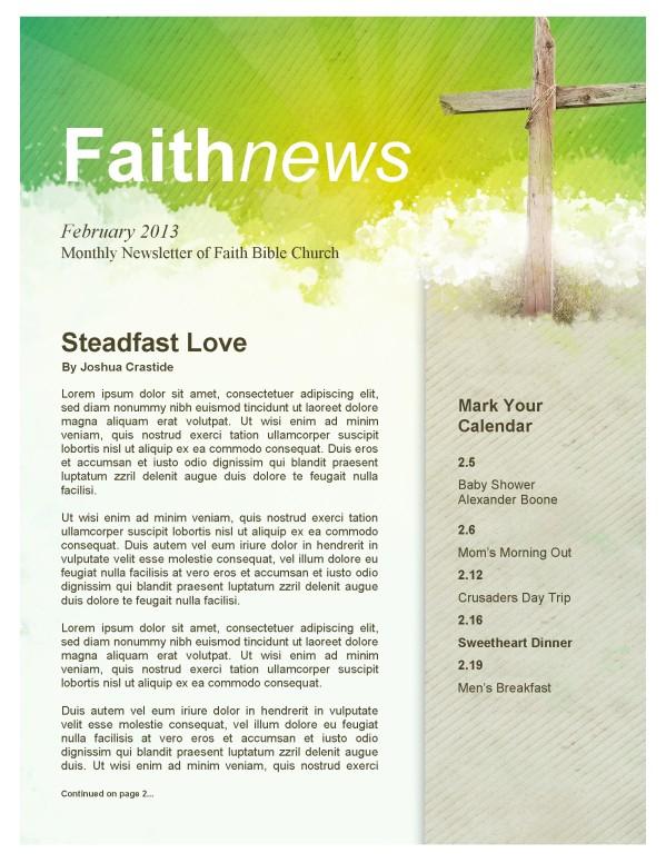 Easter Cross Church Newsletter