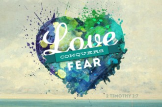 Love Conquers Fear Video Loop