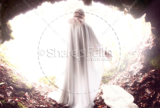 Resurrection Religious Stock Photo
