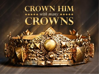 Crown Him Easter Sermon PowerPoint