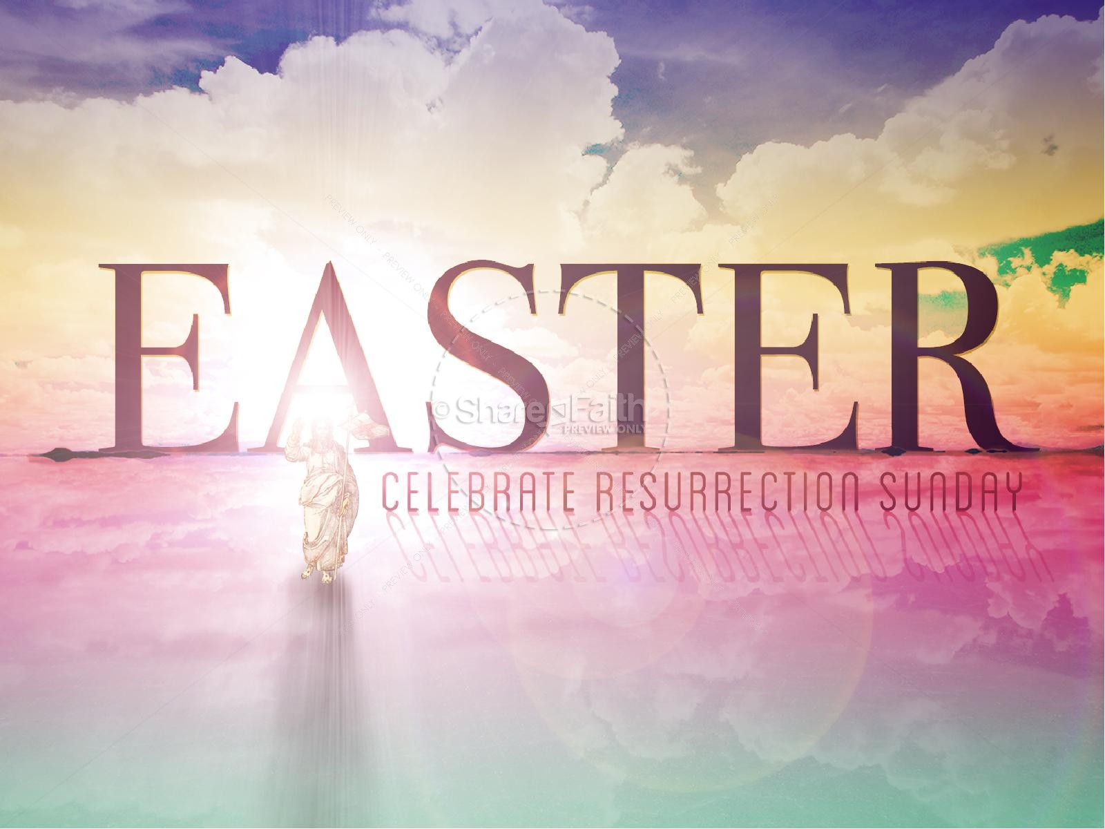 PowerPoint Sermon for Easter | Easter Sunday Resurrection PowerPoints