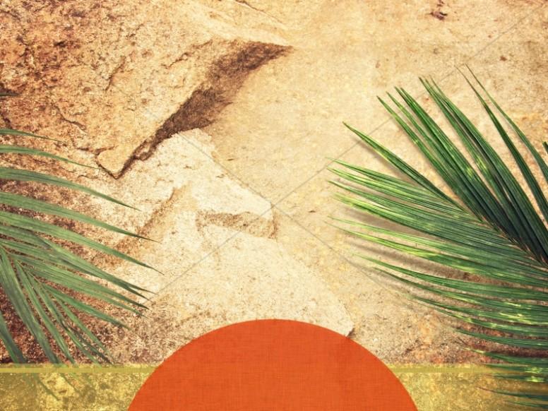 Worship Background Palm Sunday