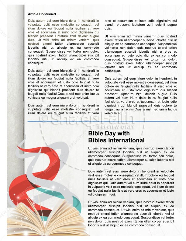 Top Ministry Newsletter Templates
