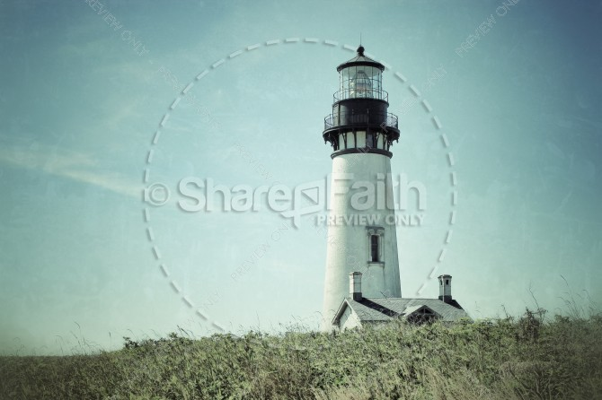 Lighthouse Christian Stock Photo