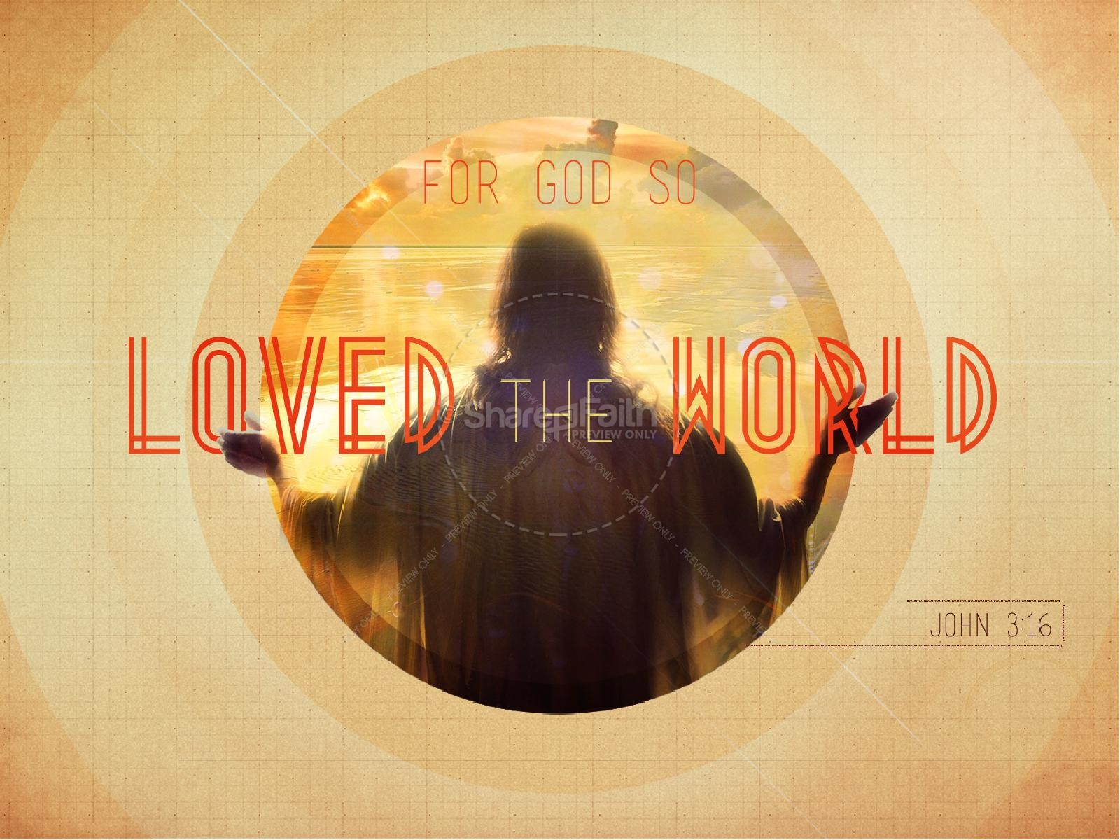 God So Loved the World PowerPoint Sermon | slide 1