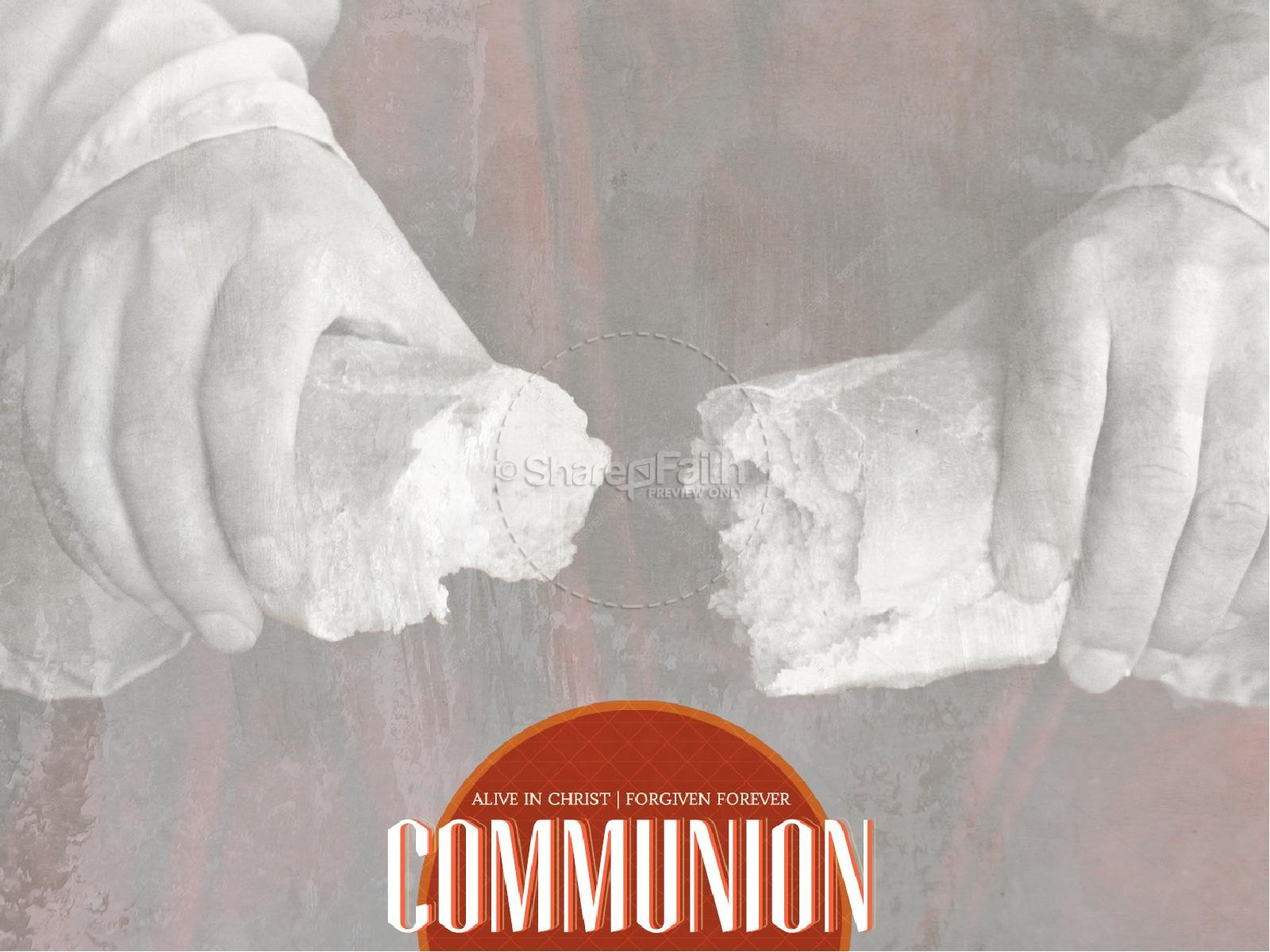 Church Communion PowerPoint Template