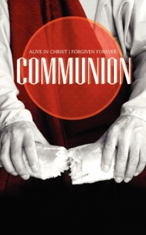 Communion Church Program Cover