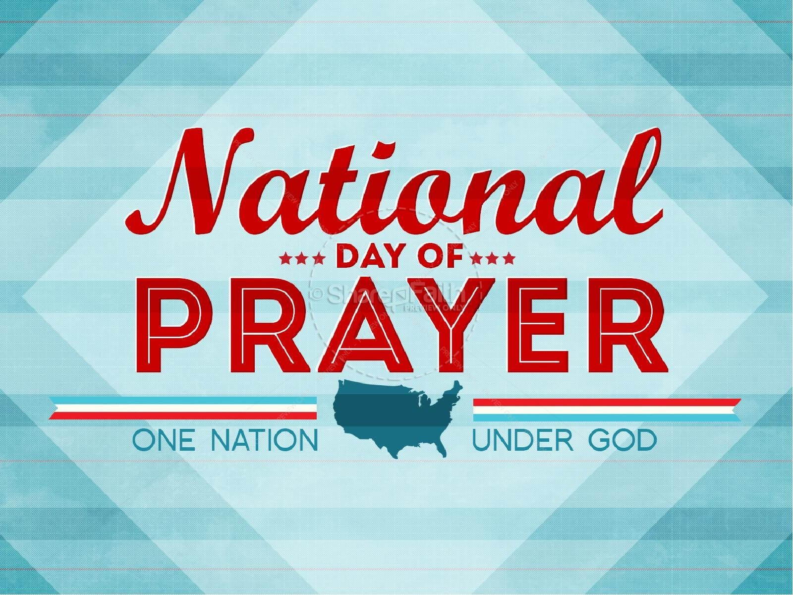 National Day of Prayer Sermon