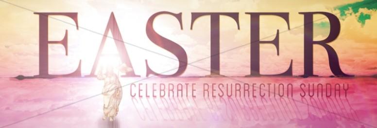 Easter Resurrection Website Banner