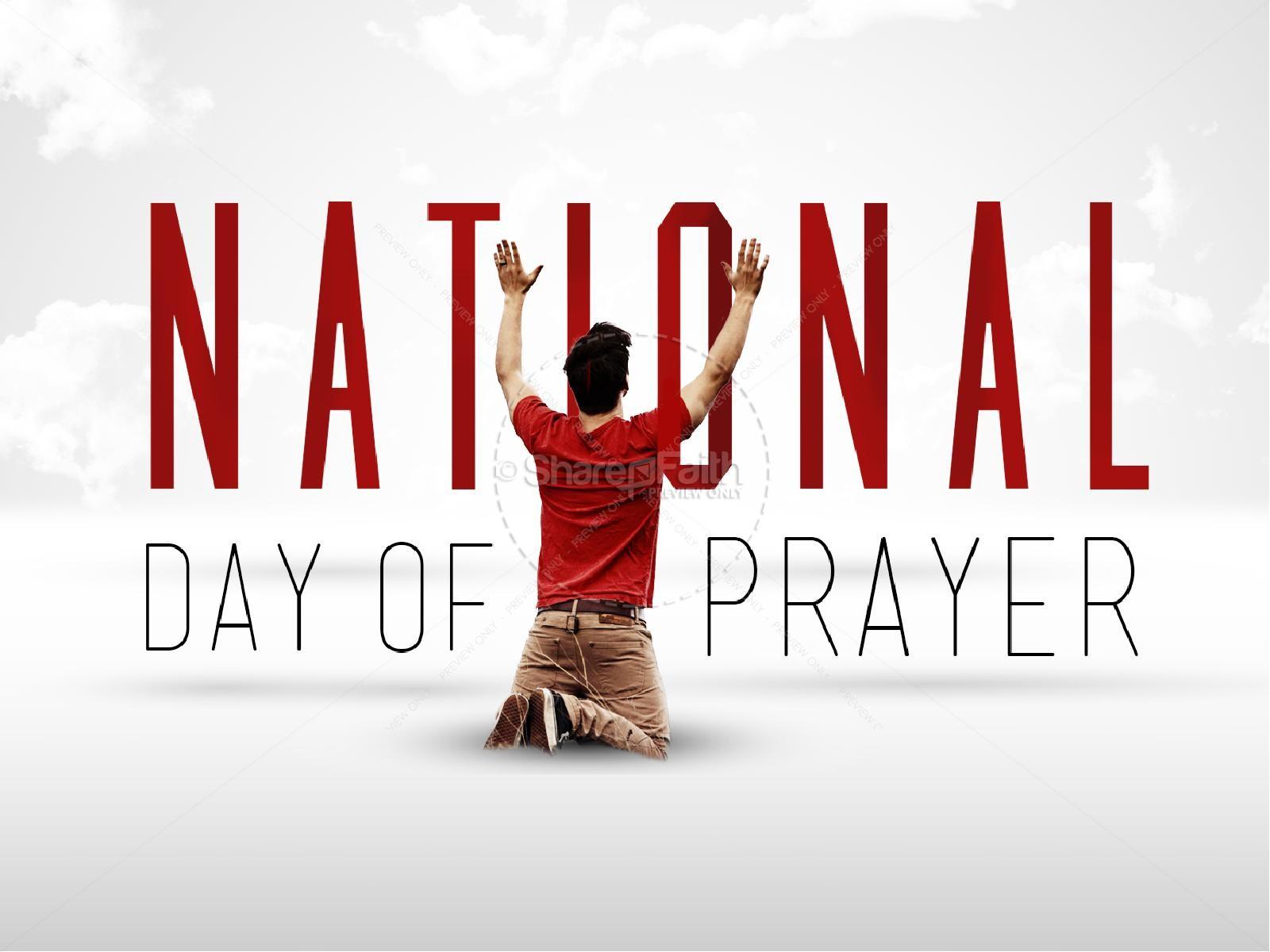 National Day of Prayer | slide 1