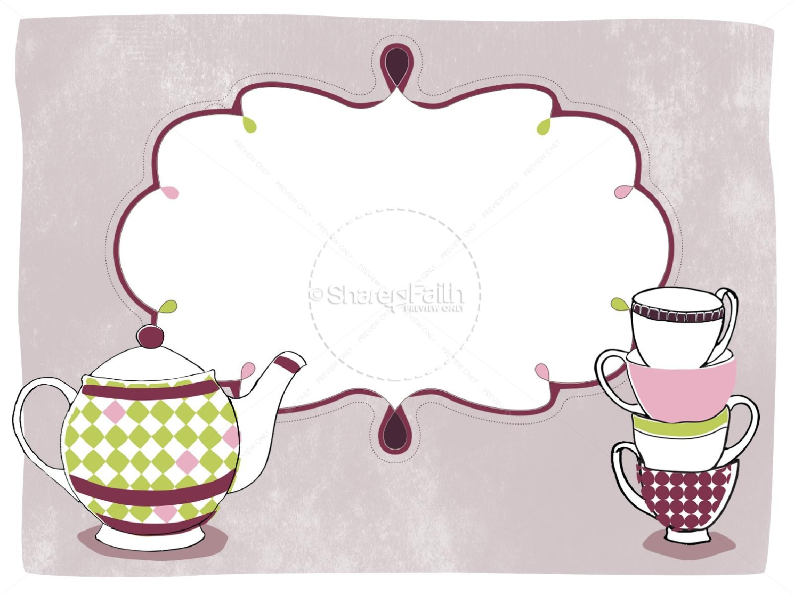 Mother's Day Tea Party PowerPoint